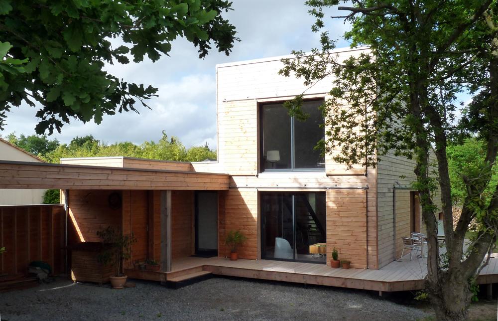 maison bois nantes elegant architecte maison bois with maison bois nantes amazing maison. Black Bedroom Furniture Sets. Home Design Ideas